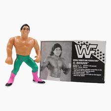 El Matador WWF Wrestling Figure With Bio Card Hasbro Series 6 1990 WWE WCW Titan