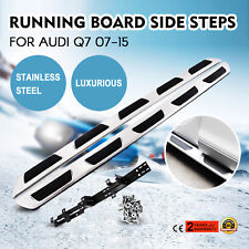 OE Style Aluminum Running Board Side Steps For 2007-2015 Audi Q7