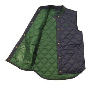 Polo Ralph Lauren Boys Navy Water Resistant Quilted Vest