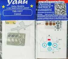 Yahu Models YML3207 1/32 PE Sopwith Camel instrument panel Wingnut Wings