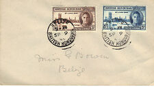 First Day Cover British Honduras Stamps (Pre-1973)