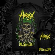 HIRAX - Violent Assault T-SHIRT thrash metal USA Nuclear Assault FORBIDDEN