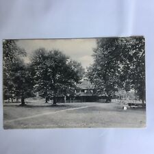 Main Pavilion Riverside Park Harford City Indiana Unposted Postcard