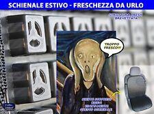 Schienale ventilato auto universale coprisedile sedili omologato fresco estivo 1