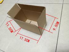 100PCS Cardboard Packing Mailing Shipping Boxes Corrugated Box Cartons