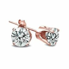 Butterfly Unbranded Rose Gold Fine Diamond Earrings