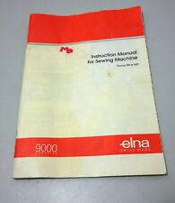 Elna Carina 68 Hinged Plastic Hard Cover