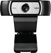 Logitech C930C 1080P HD Video Webcam - 90-Degree Extended View, Microsoft Lync