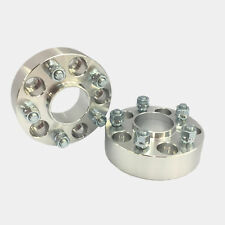 HUBCENTRIC WHEEL SPACERS 5X100 57.1 BORE 12X1.5 50MM 2 INCH FITS DODGE CHEVY