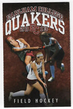 New listing 2013 Earlham College Quakers Field Hockey Schedule !!!
