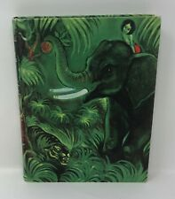 THE JUNGLE BOOK Illustrated Junior Library Fritz Eichenberg Matte Covers 1950