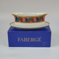 Faberge China Karsavina Gravy Boat NEW IN BOX