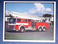 MACK SNORKEL FIRE ENGINE      Superb Photocard