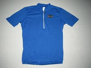 Giordana Men's Blue 1/2 Zip Up Cycling Jersey Size M Made In Italy