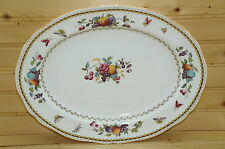 "Spode Rockingham Small Oval Serving Platter, 12 7/8"" x 9 3/4"""