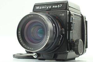 [EXC+5] Mamiya RB67 Pro S Film Camera Sekor C 65mm F4.5 Lens 120 Back From JAPAN