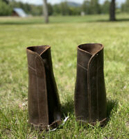 MILITARY SHIN GUARDS ANTIQUE WWI MCMONIES
