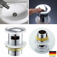 Ablaufgarnitur Pop Up Abfluss Ablauf Ventil Waschbeckenstöpsel Waschtisch Bad 01