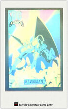 1992 DC Comics Hologram Trading Cards DCH6 Hawkman