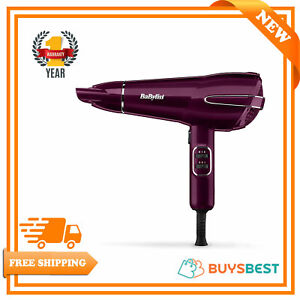 BaByliss Elegance 2100 Hair Dryer High Gloss -Raspberry - 5560KU
