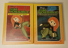Disney's Kim Possible: The Complete First & Second Season DVD w/ DMC BRAND NEW!!