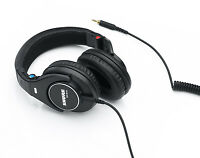 Shure SRH840 Professional Monitoring Headphones (Black) U.S. Authorized Dealer