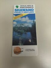 1991 Shawano County And Lake Wisconsin Map