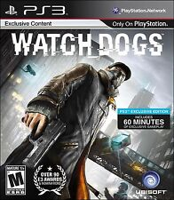 Watch Dogs by Ubisoft for Sony Playstation 3
