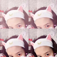 Cute Women Headband Tie Hairband Cat Ear Hair Hoop Band Hair Bangs Accessories