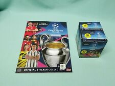 Topps Champions League Sticker 2020/2021 Sammelalbum + 2 x Display 20/21 Album