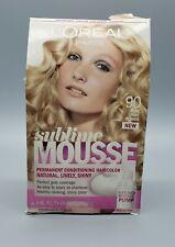 L'Oreal Sublime Mousse Permanent Conditioning Hair Color Light Blonde #90