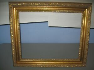 "Antique Vintage / Gold Picture Frame Large Excellent 16"" x 20"" x 7/16 depth"