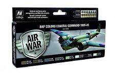 Vallejo Model Air Set RAF & FAA Coastal Command 1939-45 - 8 paints # 71148