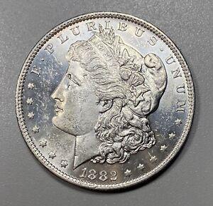 1882-O Morgan Silver Dollar $1 UNCIRCULATED Looks Proof Like!