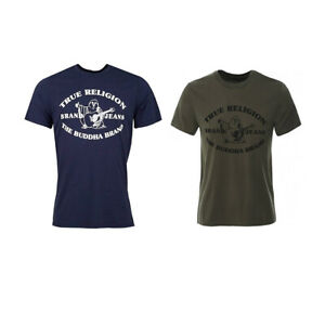New Mens True Religion 101060 Buddha Crew Neck T-Shirt