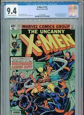 1980 MARVEL UNCANNY X-MEN #133 CLASSIC JOHN BYRNE WOLVERINE COVER CGC 9.4 BOX3