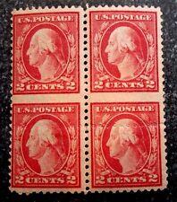 Buffalo Stamps, Scott USA #499c Vertical Block IMPERF Between, MNH, CV = $3,400