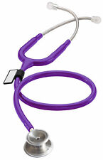 MDF MD One Stainless Steel Stethoscope - Purple Rain (Purple)