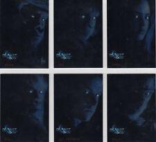 Topps Planet of the Apes Movie Rare 6 Card Box Bonus Foil Set