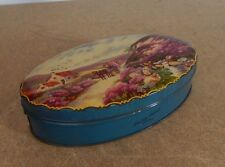 Vintage George W Horner Dainty Dinah Toffee tin moorland Scene oval tin 19 x11cm