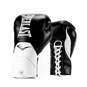Everlast Unisex Elite Pro Fight Gloves Boxing Quilted Ventilation