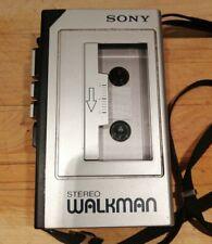 SONY WALKMAN stereo cassette player WM-1 pour pièces