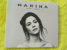 Marina - Love and Fear UK CD Digipack diamonds