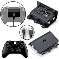 For Wireless Xbox ONE Play Controller&Charge Battery and USB Cable Rechargeable