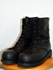 Used Canadian military combat boots size 8 1/2 ( 265/100 ) Steel Toe  ( C12 )