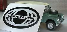 Land Rover Carawagon Camping-Car Série 2 A 3 Autocollant Étiquette Badge