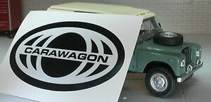 Land Rover Carawagon Camper Series 2a 3 Decal Label Badge Sticker