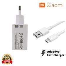 Caricabatterie Da Rete Originale Xiaomi Carica Rapida Fast Charger Cavo Type-C