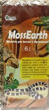 Muschio Naturale per Teca Terrario di Anfibi Rettili lit.6 Gr.140 Substrato Uova