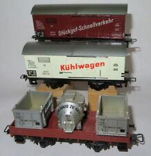 BUB DB old tinplate DB freightwagons